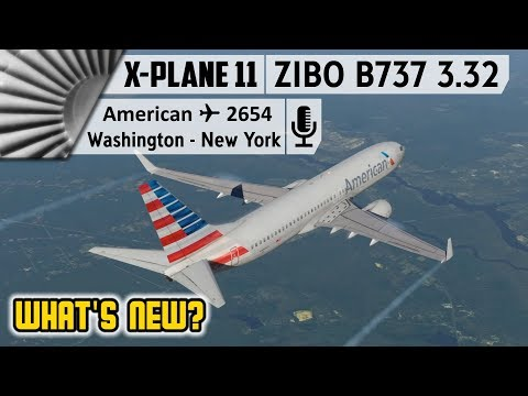 ZIBO B737-800X v3 33 | What's New? | EGCC to ENZV [X-Plane