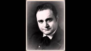 """Tenore BENIAMINO GIGLI - Adriana Lecouvreur """"L'anima ho stanca"""" (Live 1952)"""