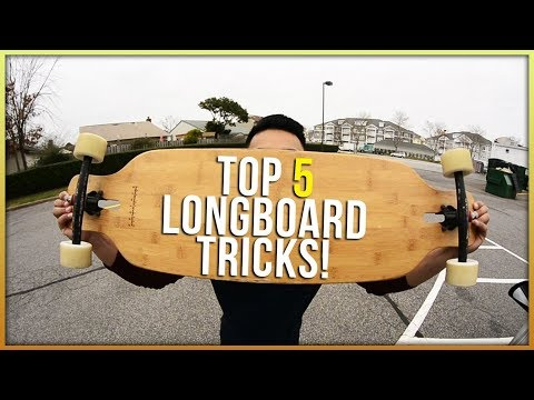 5 Easy Longboard Tricks For Beginners (2018)