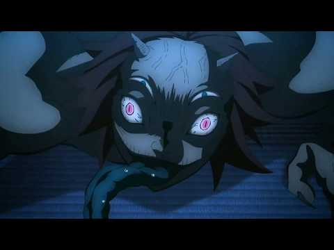 Demon Slayer (Kimetsu no Yaiba) - Zenitsu Sleeping Scene but in BLUE EFFECT