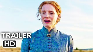 WOMAN WALKS AHEAD Official Trailer (2018) Jessica Chastain, Sam Rockwell Western Movie HD