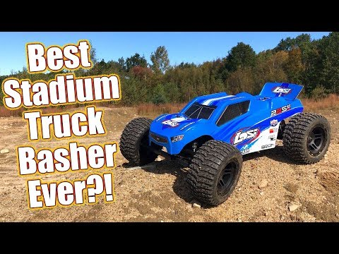 Basher Stadium Truck With A Pro Attitude - Losi 22S ST RTR Brushless Review | RC Driver