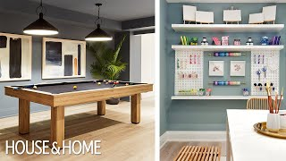 Luxury House Tour: The Lower Level Of The Grand Prize Showhome!