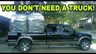 You should only own a pickup truck if you..............with it!