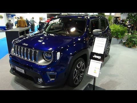 2019 Jeep Renegade Limited 1.3 Turbo 150 - Exterior and Interior