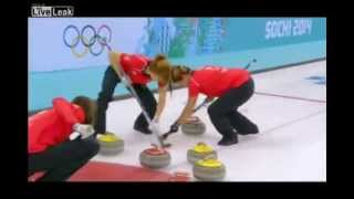 David Attenborough - Olympic Curling