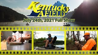 Watch Video - July 24th, 2021 Full Show - Kayak Bass Fishing Scholarships, 12 Year Old Lure Maker, Rabbit Hunting