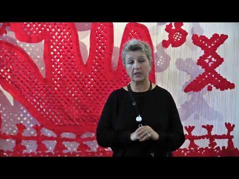 """Авторська прощальна екскурсія Валентини Роєнко-Сімпсон експозицією виставки """"Повторний цикл"""" - YouTube"""