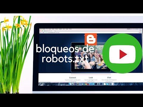 Indexacion Blogger, categorías bloqueadas por robots. txt - YouTube