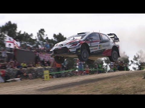 WRC 2019 Rd.8 イタリア ハイライト動画 | TOYOTA GAZOO Racing