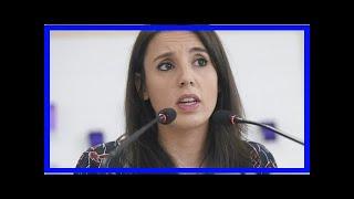 Irene Montero Recibe El Alta Tras Convertirse En Madre De Mellizos Prematuros