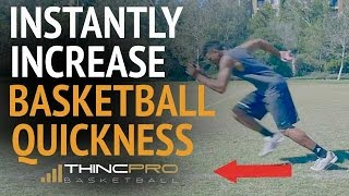 How to Increase Your BASKETBALL QUICKNESS at Home (With No Equipment!) - Basketball Quickness Drills