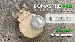 How to Restore Shine of 30 Years Granite Flooring using Bonastre Flooring S