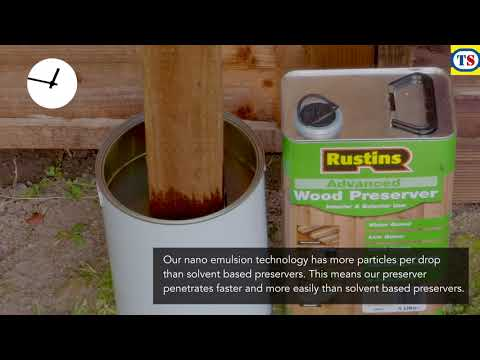 Rustins Advanced Wood Preserver 5L