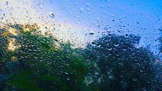 Rain Sounds on Car for Sleep or Focus   10 Hours White Noise
