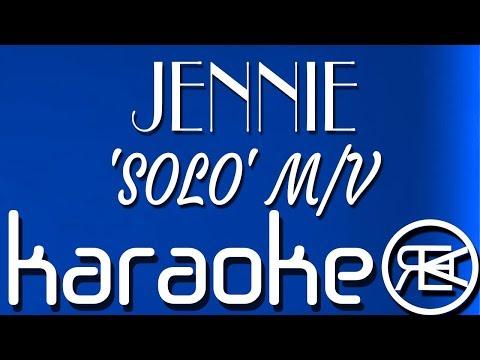 JENNIE – 'SOLO' M/V | Karaoke Lyrics Instrumental (Blackpink