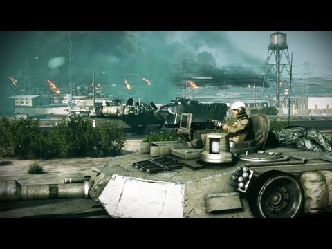 Battlefield 3 Launch Trailer Shows Off Explosive Single Player Campaign