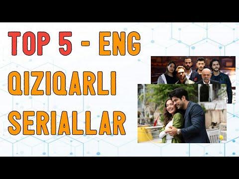 TOP-5: ENG SARA 5 TA SERIALLAR TO'PLAMI!
