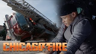 Embarrassing!   Firetruck Pile Up | Chicago Fire