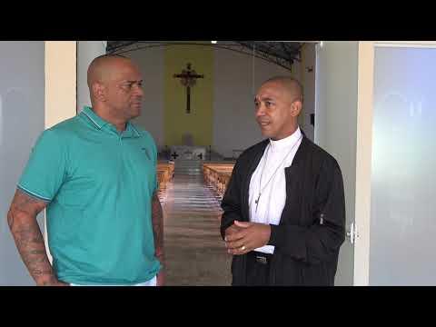 Repórter Favela entrevista padre Valdir o melhor Padre da História de Juquitiba