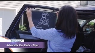 Dreambaby Wide Car Window Shade - Demonstration Video | BabySecurity