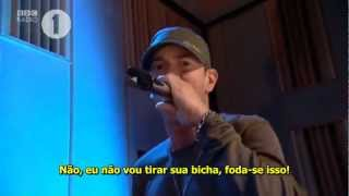 Eminem - Westwood freestyle Radio 1 [Legendado]