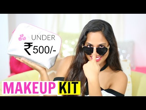 Affordable Makeup Kit - All Products Under ₹500/- | ShrutiArjunAnand