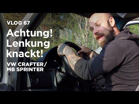 Achtung! Lenkung knackt! / MB Sprinter VW Crafter