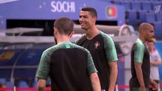 Одни из самых сильнейших сборных планеты - Португалии и Испании - сразятся в Сочи