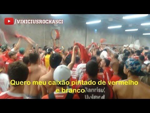 """""""Inter 0x0 Coritiba - Caixão Vermelho e Branco - Guarda Popular no Túnel"""" Barra: Guarda Popular • Club: Internacional"""