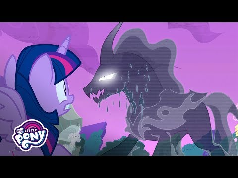 'The Return of the Pony of Shadows?' 🌑 Official Clip   MLP: Friendship is Magic Season 7