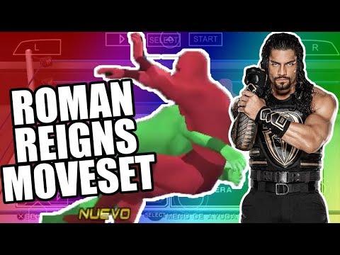 GRUPO DE MOVIMIENTOS DE ROMAN REIGNS EN SVR2011 - Moveset Roman Reigns svr 2011