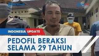 Pelaku Pedofil di Prabumulih Beraksi selama 29 Tahun, Terbongkar setelah Orangtua Korban Lapor