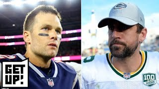 Tom Brady vs. Aaron Rodgers: Who is the QB GOAT? | Get Up!