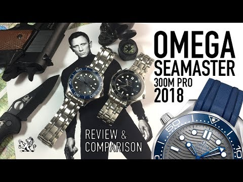 Has Omega Perfected The Seamaster 300m In 2018? – A Review & Comparison Of 007's Next Watch