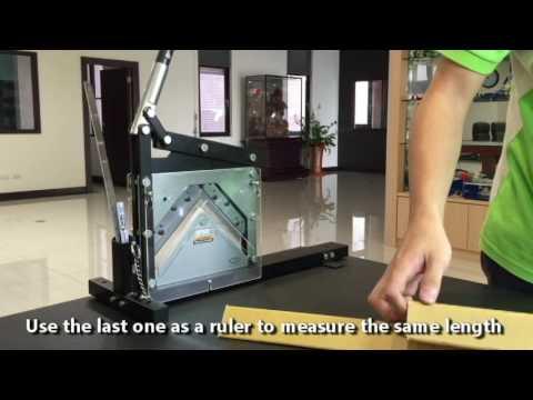 AC-110 Portable Cardboard Edge Protector Cutter