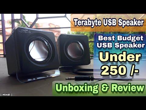 Terabyte USB speaker unboxing and full review 🔊 | best budget speaker for laptop or mobile [ Hindi