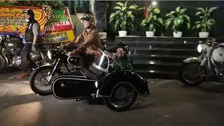 Sebelum ke Acara Pisah Sambut Kadiv Humas Polri, Setyo dan Iqbal Konvoi Gunakan Motor Lawas