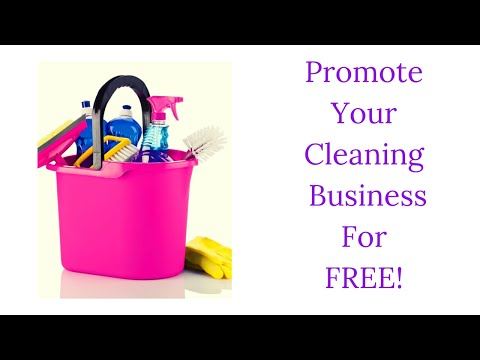 How To Promote Your Cleaning Business For Free | Q&A Thursday