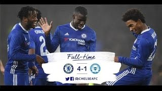 Chelsea vs Peterborough United 4 - 1, All Goals and Higlight FA Cup 08 January 2017