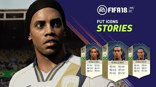 FIFA 18 PRESENTA - ICONOS DEL FÚTBOL EN ULTIMATE TEAM !!