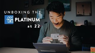 Unboxing The American Express PLATINUM Card at 22 Years Old  (2020)