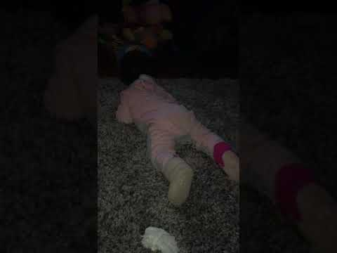 Cute Baby Humping The Floor When Mad