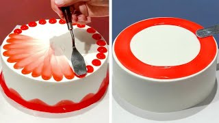 7+ Creative Cake Decorating Ideas Like A Pro | Most Satisfying Chocolate | Homemade Cake Design