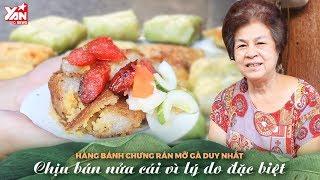 Hàng Bánh Chưng Rán Mỡ Gà Duy Nhất Chịu Bán Nửa Cái Vì Lý Do Đặc Biệt   Món Ngon Yan Food