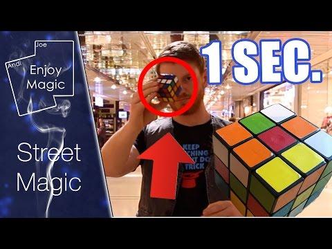 Zauberwürfel Street Magic | Rubics Cube | Enjoy Magic |