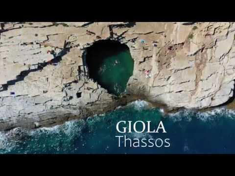 Giola, Thassos, Grecia 4K