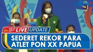 Sederet Rekor Dunia hingga Nasional Diraih Sejumlah Atlet PON XX Papua, Ini Daftar Pencapainnya