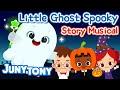 Little Ghost Spooky | Halloween Story for Kids | Bedtime Story in English | Juny&Tony by KizCastle