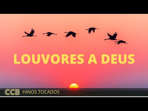 LOUVORES A DEUS - HINOS TOCADOS CCB